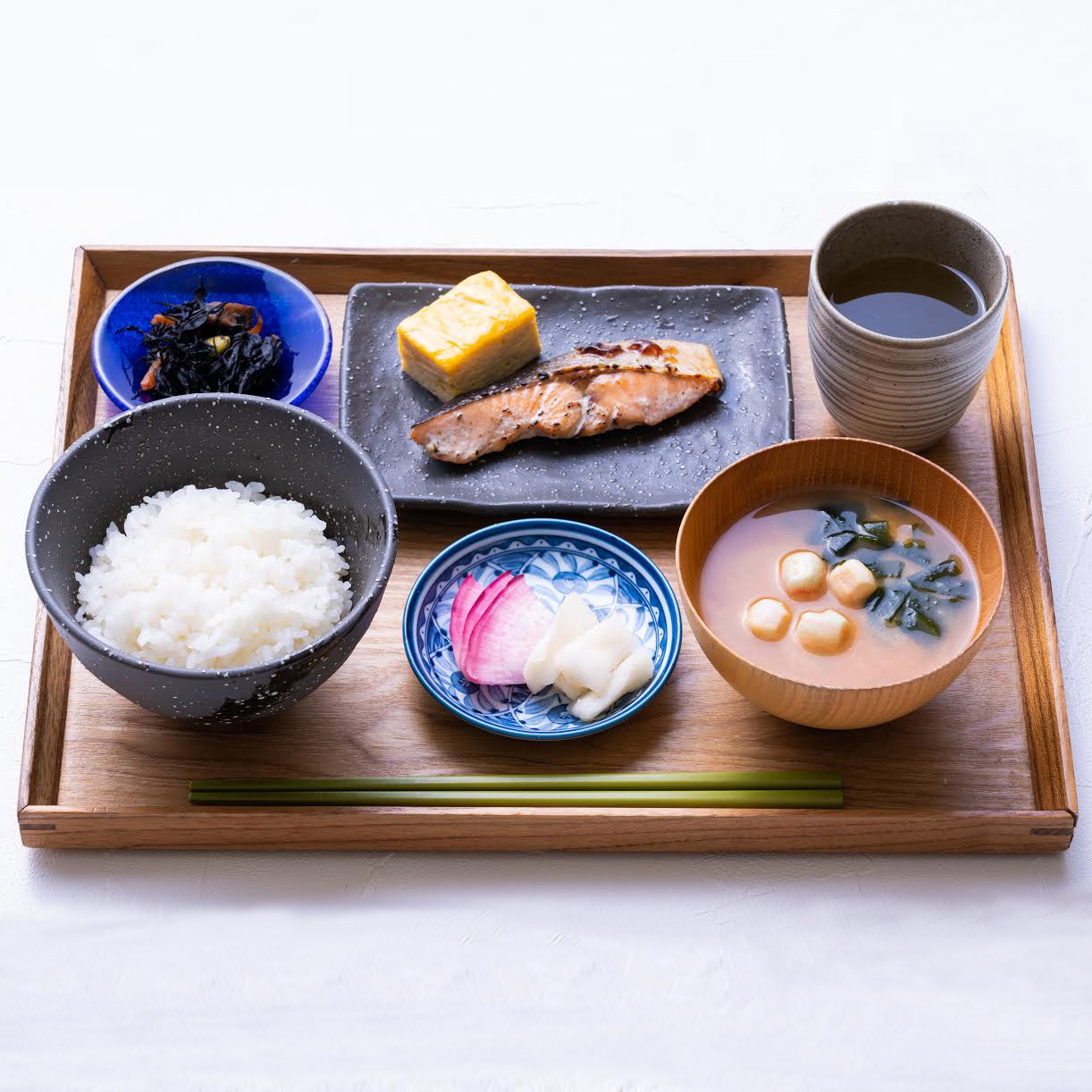 Simple Japanese Breakfast Upon Request