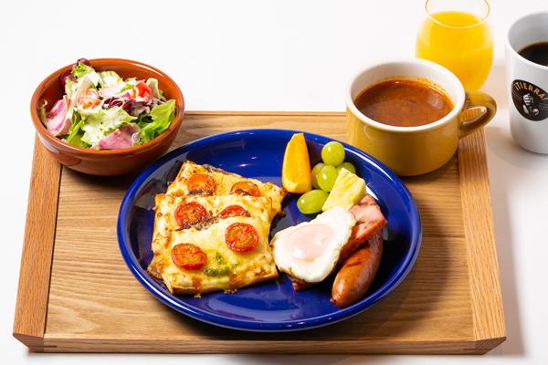 Autumn Breakfast Cheese