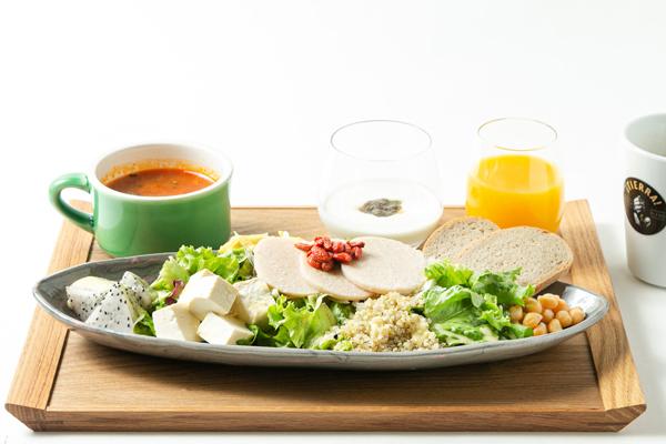 Autumn Breakfast Salad